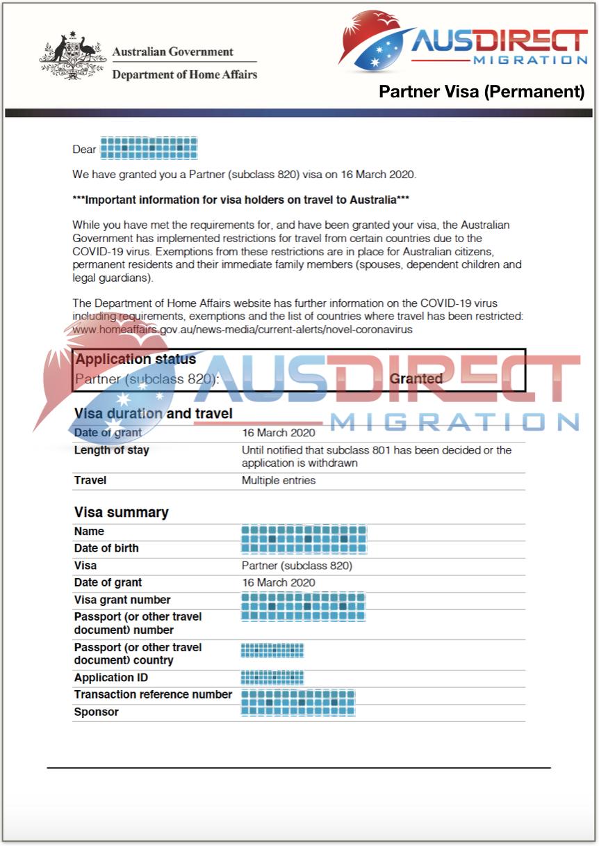 Partner Visa (Temporary)
