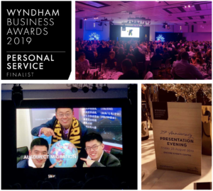 Wyndham Business Award Finalist